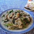 鶏白湯チャプチェ