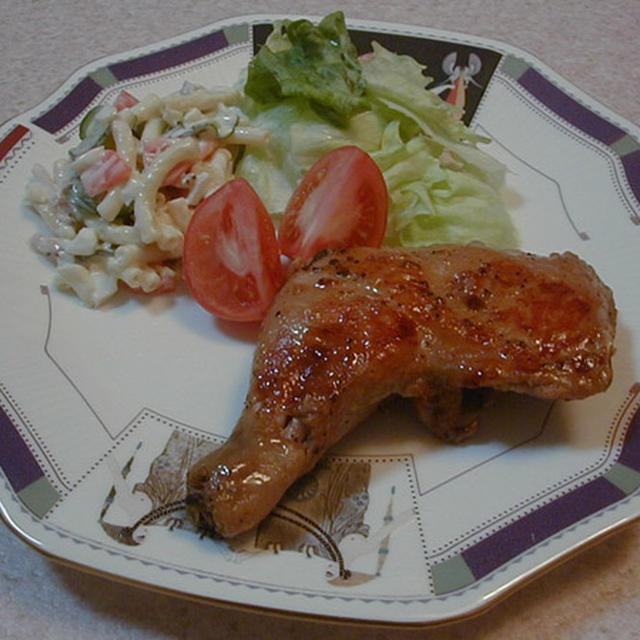 鶏レックのスパイス焼き