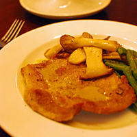 豚肉のマスタードソース