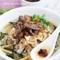 焼き肉の〆に雑穀米でお茶漬けクッパ