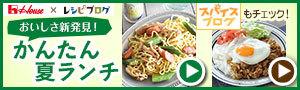 夏のかんたんランチ料理レシピ