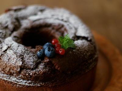 チョコのわっかケーキ <焼きっぱなしver.>