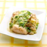 ☆鶏肉とキャベツのねぎ味噌炒め☆