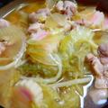 味噌鍋の残りスープを使った簡単醤油ラーメン