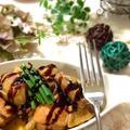 シャトルシェフでずぼら 鶏とカブの柔らか煮込み バルサミコがけ by KEIKAさん