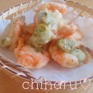 旬のものをさくっとおいしく!そら豆の天ぷらレシピ