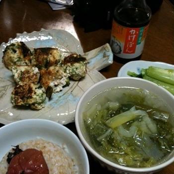 ブロッコリーのふわふわ豆腐団子