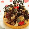 * バレンタイン ♥ チョコバナナタルト♪