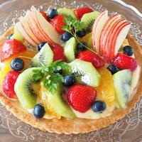 彩りフルーツの宝石箱☆タルト・オ・フリュイ~Tarte aux fruits~