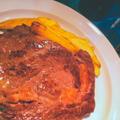 牛リブロースのステーキとフライドポテト by 低温調理器 BONIQさん