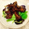 圧力鍋で簡単時短 ルバーブジャムで煮込んだ豚スペアリブ