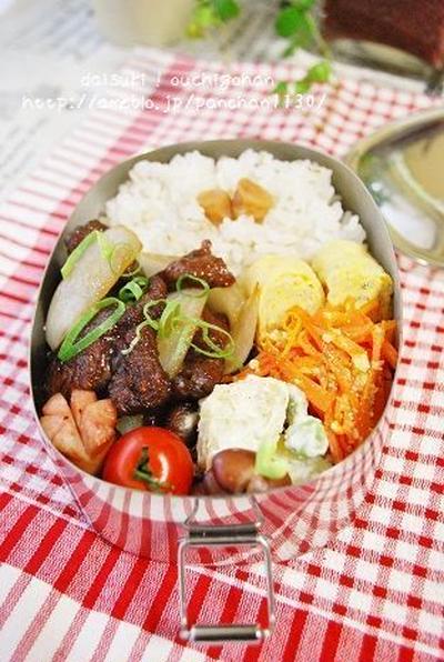 牛肉と玉ねぎのウスターソース炒め弁当とトリップアドバイザーにて掲載!