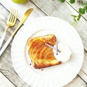 洋梨の薄焼きパイ