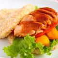 鶏肉レシピ【照り焼きチキンのライスバーガー】