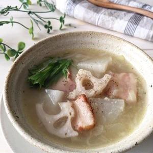 身体の中からぽっかぽか!「すりおろしスープ」を作ろう