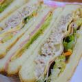 白菜漬でサンドイッチ