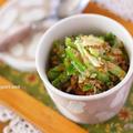 生ピーマンで作るおいしいご飯のお供『おかか生姜ピーマン』 by 小春さん