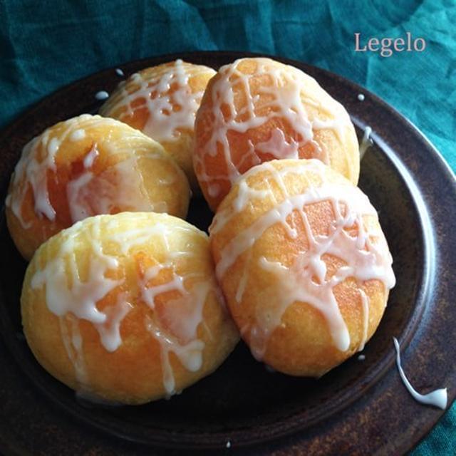 ヨーグルトで ふっくら ドーナツ ♪手で丸めてフライパンに油1cm