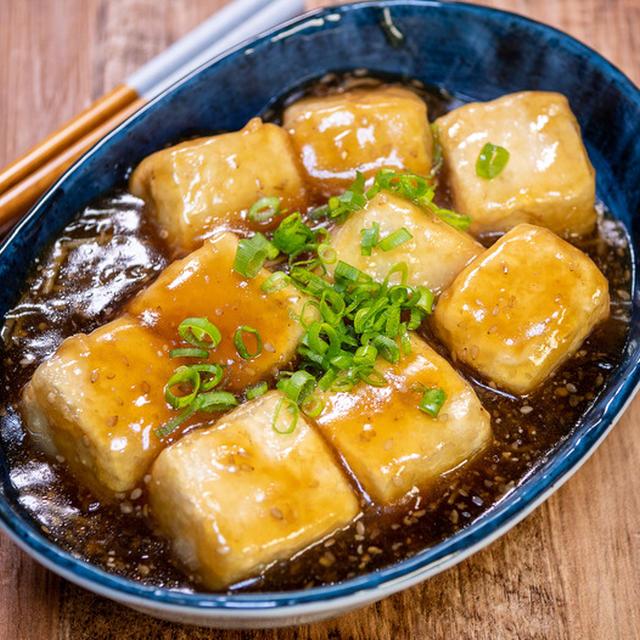 ぽったりと食べる「揚げ豆腐の生姜あんかけ」&「たまに食べたくなるホットサンド」