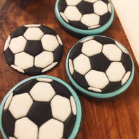 サッカーボール★アイシングクッキー