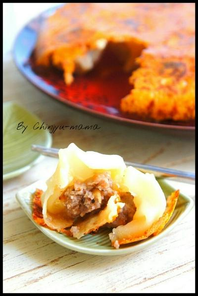 簡単【包丁まな板不要/餃子の皮で】カリカリチーズの羽が美味しい♡焼きチーズ小籠包