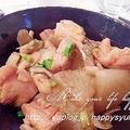 【クックパッドニュース掲載】大根と鶏もも肉のバター醤油で☆炒め煮&ポチ報告2 by ジャカランダさん