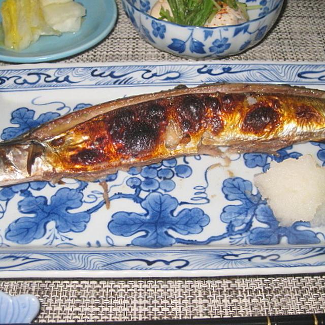 秋刀魚の塩こうじ焼き定食