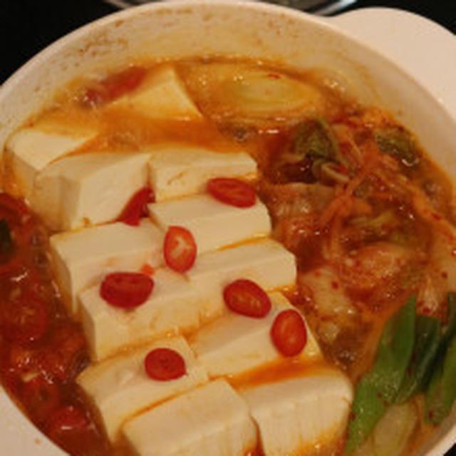 ★キムチ豆腐鍋レシピ人気1位(김치・두부찌개)