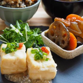 【料理教室】美肌を作る和食