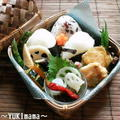 ディル風味サーモンのピカタ(マヨ)のお弁当 by YUKImamaさん