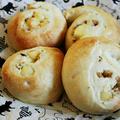 【簡単!袋deもみもみ♪1 hour bread(ワンアワーブレッド)】チーズくるみパン