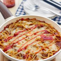 チーズとろけるミートソーススパゲティ◆グリーンパンご紹介