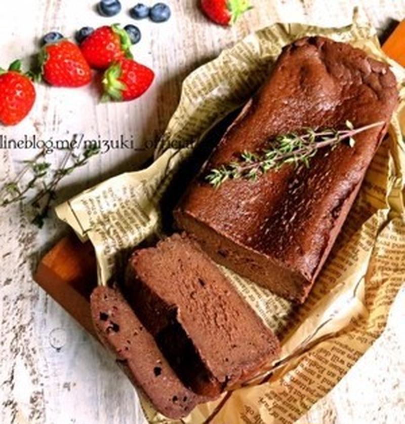 板チョコでOK!簡単&濃厚な生チョコケーキ