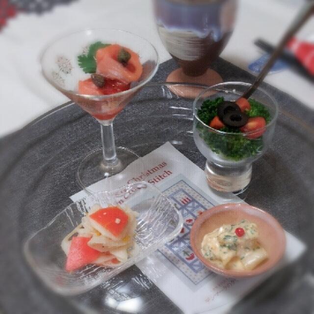 Happy茶々DOのクリスマスランチ~前菜