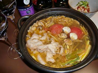 お野菜たっぷり「トマト鍋」の作り方。 鍋料理のレシピ