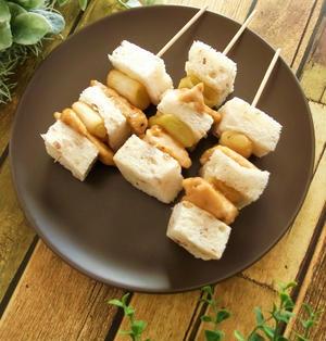 ねぎま串サンドイッチ