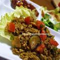 夏のお昼にいかがですか?<フレッシュトマトと夏野菜のカレーピラフ♪ワンプレートご飯>