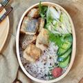 DHAをとろう!ドーンと鯖の竜田揚げ弁当。