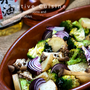 オーブンで焼くだけのキノコと秋野菜の米油ハーブ焼き