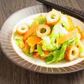 味が落ちにくい * 春キャベツとちくわの常備菜 by 庭乃桃さん