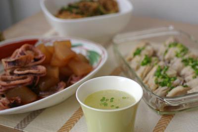 鳥のやさしいスープ