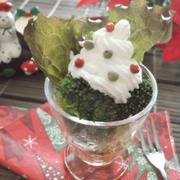新感覚ドレッシング(クリスマスバージョン) と つくれぽのめっちゃ美味しいスコーン