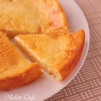 ホットケーキミックスとスライスチーズで超簡単チーズケーキ☆クックパッドニュースに掲載!