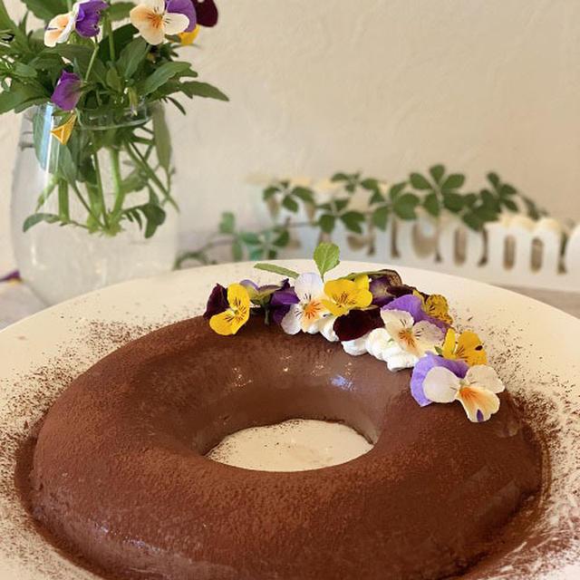 レシピを見直してエンゼル型で焼かない濃厚チョコレートムース