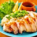 クックパッド健康レシピ!レンジ3分シンガポールチキンライス by みぃさん