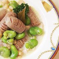 空豆と大豆とソーセージと♪