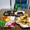 【家飲み】 ホタテと牡蠣のフライと 日本酒♪ 横山五十 純米大吟醸 WHITE 直汲み生酒 / 黒龍 垂れ口 純吟