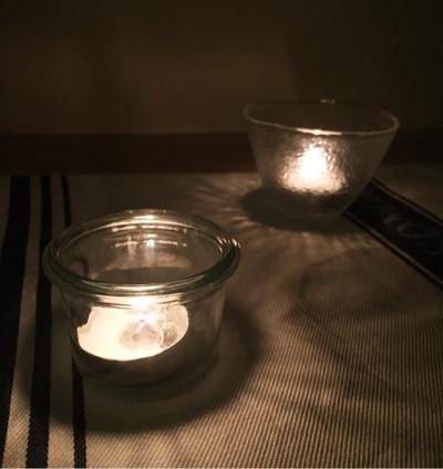 塩玉ねぎ巾着でお弁当♪夏至のキャンドルナイトはガラナカクテルでまったり