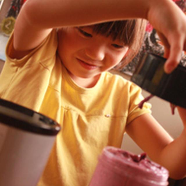 長女8歳の アイスレシピ