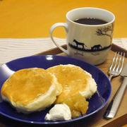【うちレシピ】卵白消費★ホケミで簡単ふわふわパンケーキ / 【参加中】ハンブレでらくらく♪時短レシピコンテスト by レシピブログ